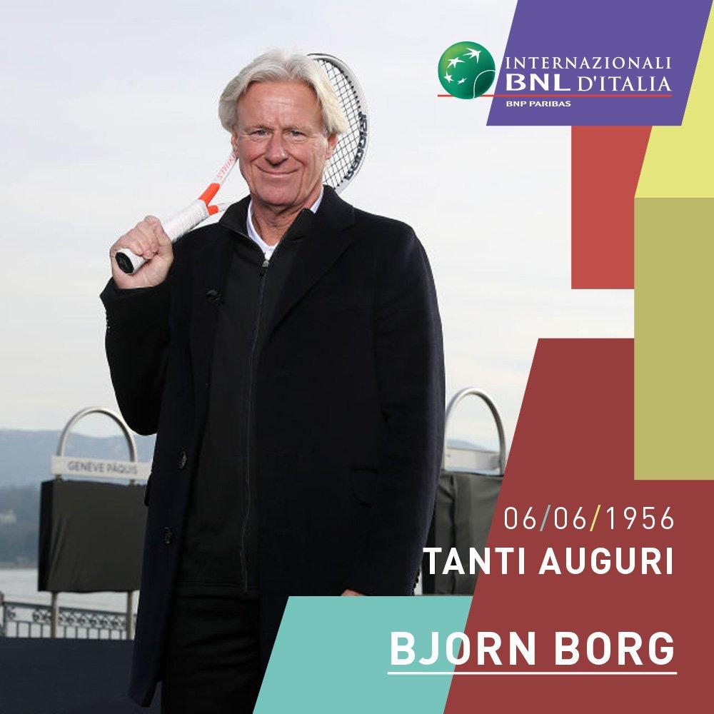 🎂 Buon compleanno ad uno dei più grandi campioni della storia del #tennis, Bjorn #Borg!   #ibi19 #happybirthday