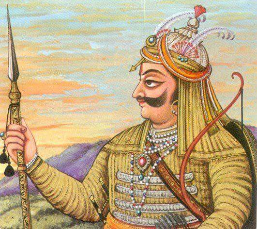 """@rajnathsingh '■यदि कभी शौर्य वीरता का तुममें कमी आ जाए,तो एकबार महाराणा प्रताप सिंह जी को याद कर लेना।■ कोटि कोटि नमन अर्पण करते है आप भारत पुत्र को।■रक्त तु उबाल सा, शकत तु ढाल सा।"""" जयहिन्द जय भारत"""