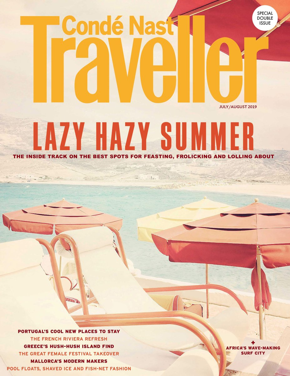 2601b5cc40 The July/August issue is out, packed with stories from Greece, Portugal,  the French Riviera, St Barth's, Tokyo, Barcelona and more.