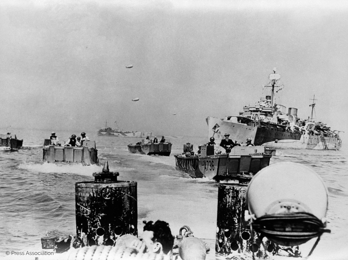 Today marks the 75th Anniversary of the #DDayLandings #DDay75  On 6 June 1944, Allied forces launched a combined naval, air & land assault on Nazi-occupied France, codenamed 'Operation Overlord'.   Their courage, sacrifice and unconquerable resolve will never be forgotten.