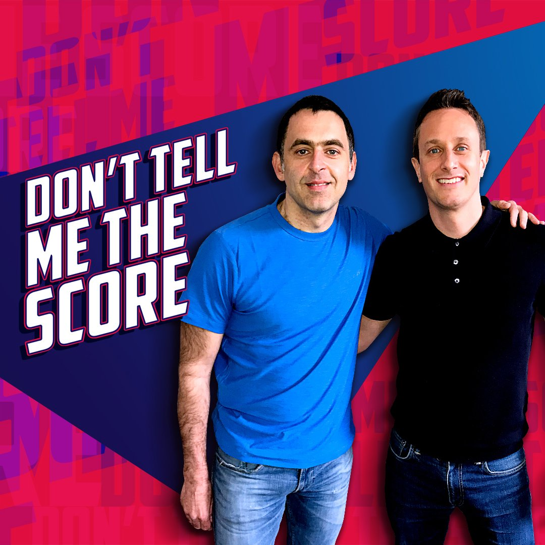 """I've played less but my ranking speaks for itself."" 🥇@RonnieO147 joined @SimonMundie to talk about why moderation is so important in sport. 🎱Listen to Don't Tell Me The Score on BBC Sounds 🎧https://bbc.in/2KARkiJ"