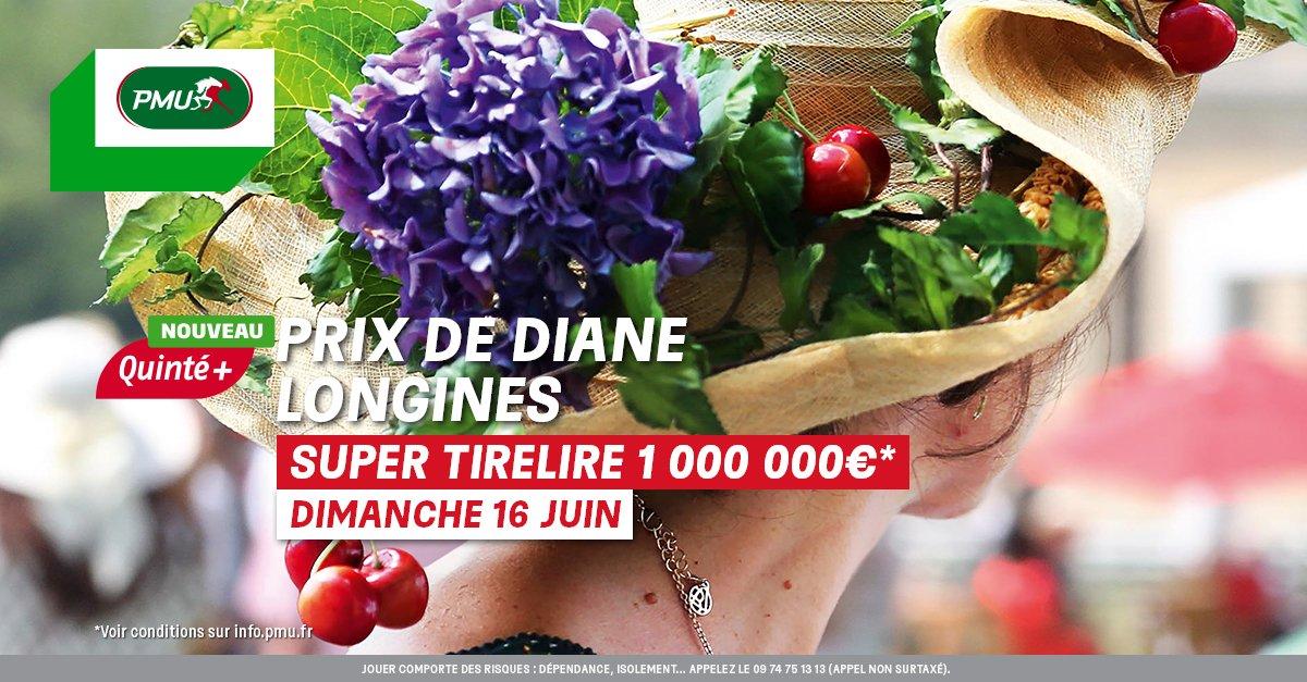 Le dimanche 16 juin, pariez sur l'élégance au #PrixDeDiane  @Longines ! 👒😎