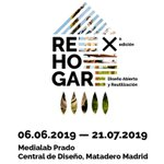 Image for the Tweet beginning: hoy se inaugura #REHOGAR, de