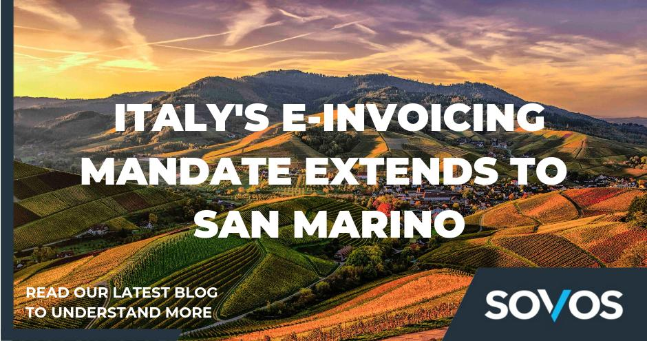 Italy's e-invoicing mandate extends to San Marino. #einvoicing is expected to become mandatory for all cross-border transactions between Italy and San Marino. Read more at: http://bit.ly/2KuWYCJ