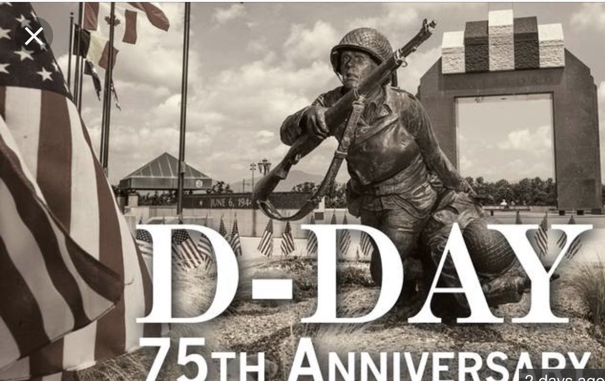 Grateful to those who served and those who continue to serve. #DDay75thAnniversary