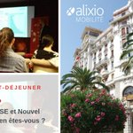 Image for the Tweet beginning: Petit-déjeuner #CSE organisé à Nice