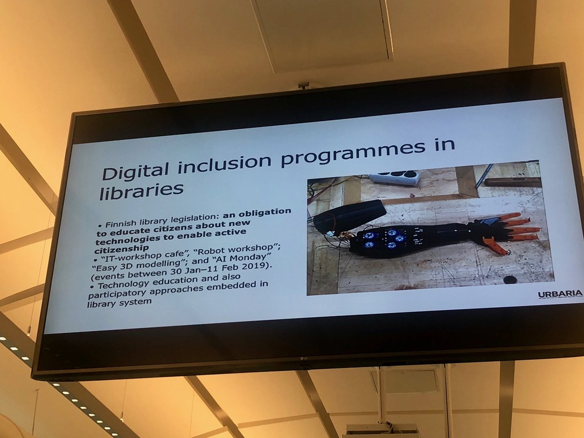 test Twitter Media - Lots of inspiring talks at #comtech2019 ⁦@CareablesOrg⁩ what about co-designing #careables in libraries? https://t.co/kFumTyvoj9