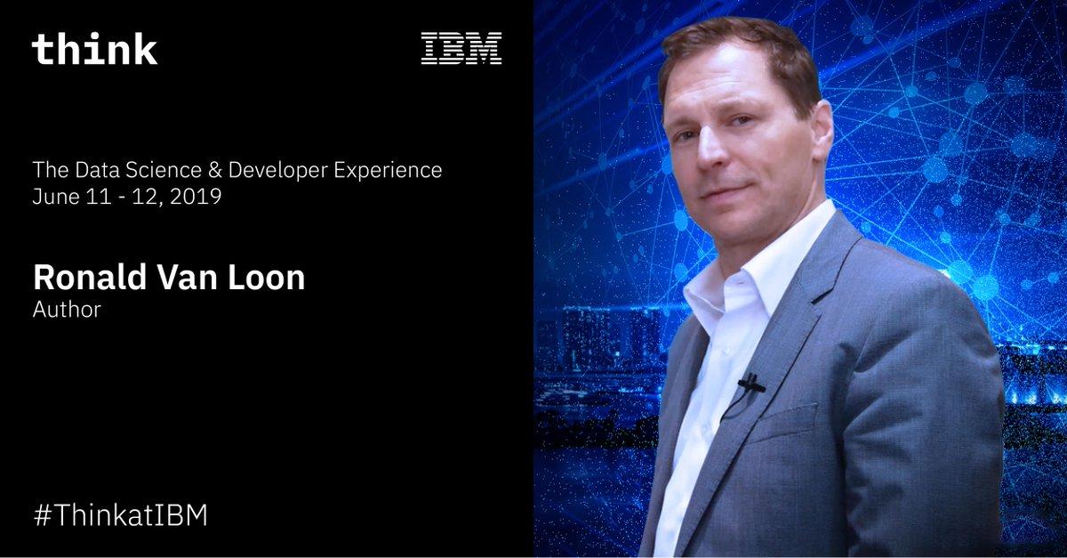 Join me at IBM Data Science & Developer Experience Berlin Join here: https://ibm.co/2EXLCnf  #IBMpartner @IBMDeutschland #ThinkatIBM #DataScience #BigData #DataAnalytics #Technology   @AndersIndset @klabol @Ronald_vanLoon @IBM