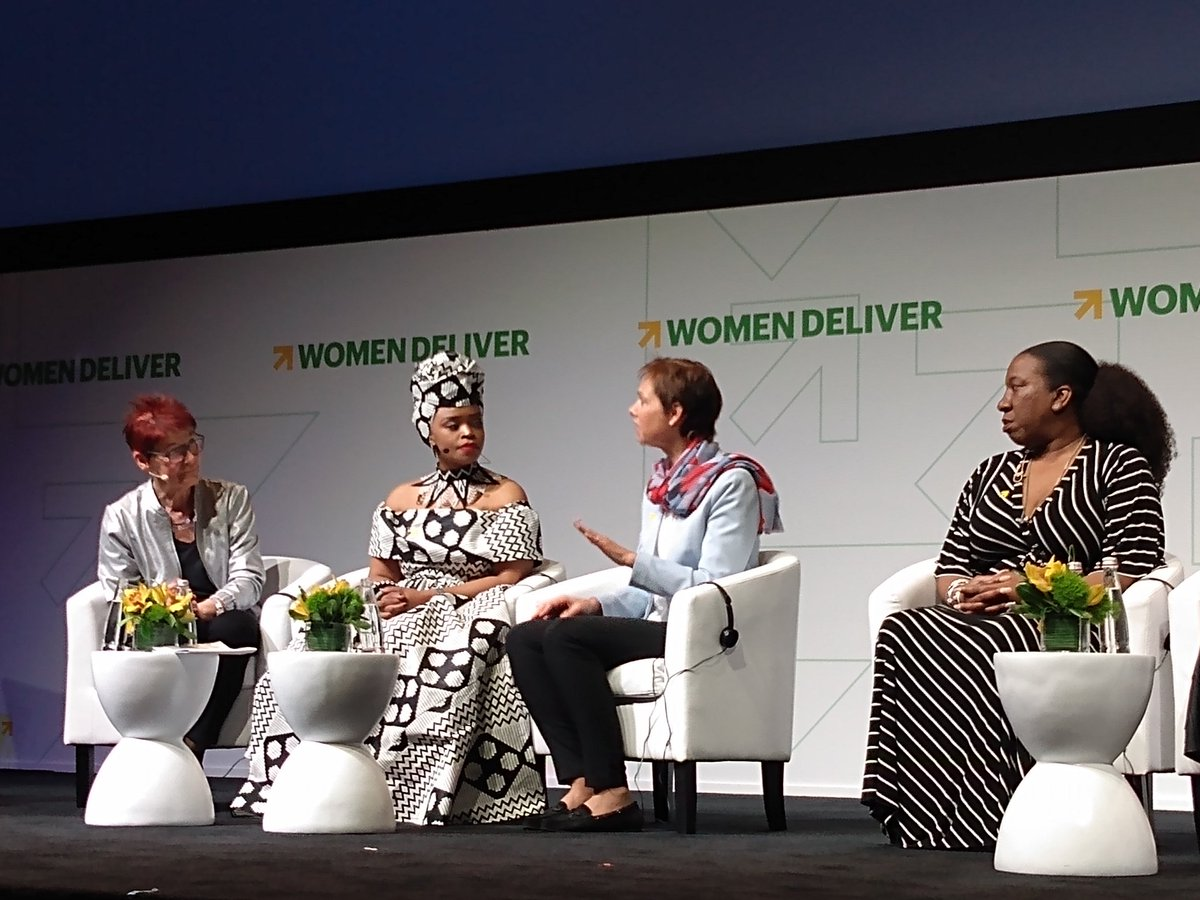 It is through collective power that women will achieve their individual power! So says @HolstHaldis #ThePowerOf #WD2019