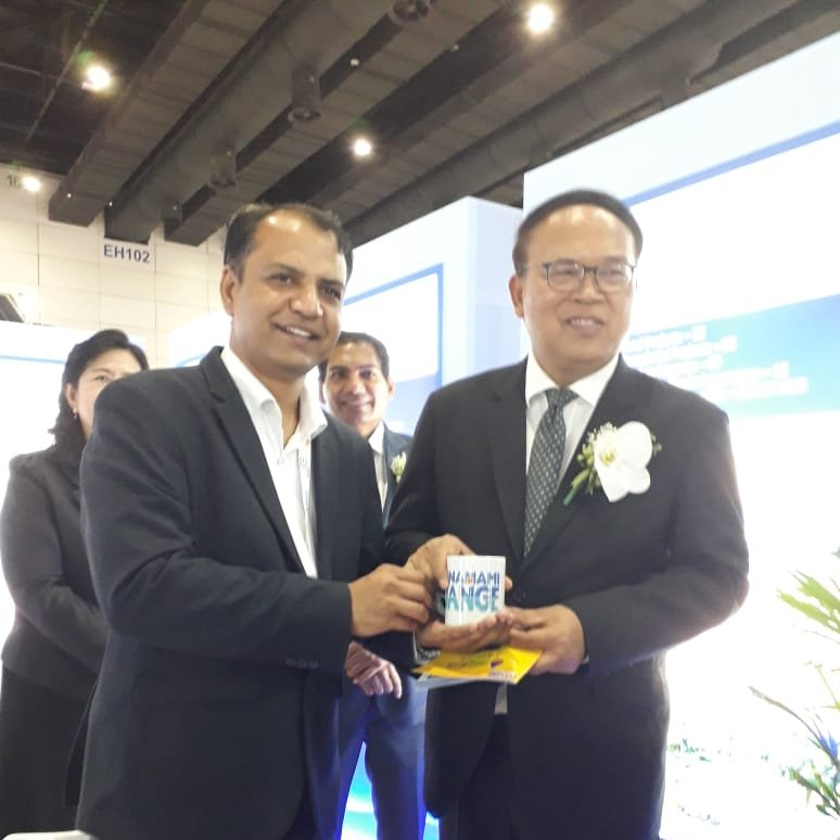 #RT @mowrrdgr: RT @cleanganganmcg: Dr Wijarn Simachaya, Permanent Secretary of the Ministry of Natural Resources and Environment, Thailand, paid a visit to the NMCG pavillion in the Thai Water Expo and lauded the efforts of the mission towards the conser…