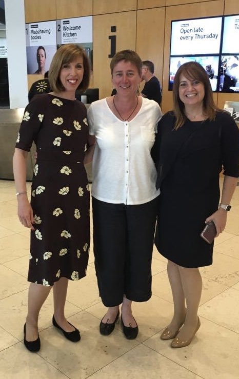 Our founder @katietaylorbaum with @mymenopausedr @Dianedanz at the @LeighDayClinNeg #WomensRights in #Healthcare conference opened by @White_Suz followed by @BaronessUddin #WRH2019 #activism #advocacy #inequality #social #injustice #womensupportingwomen