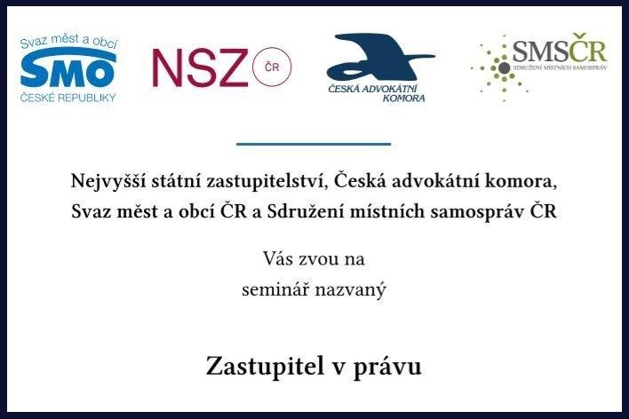 test Twitter Media - Tři právní školení nejen pro starosty, aby už měli po starostech, připravily @CAK_cz  a @NSZ_info na letošní podzim. Semináře Zastupitel v právu lektorsky povedou známí odborníci, pro komunální politiky jsou zdarma a zájemci se mohou registrovat již dnes. https://t.co/PU2ve2em8c https://t.co/3rmTCkGtyv