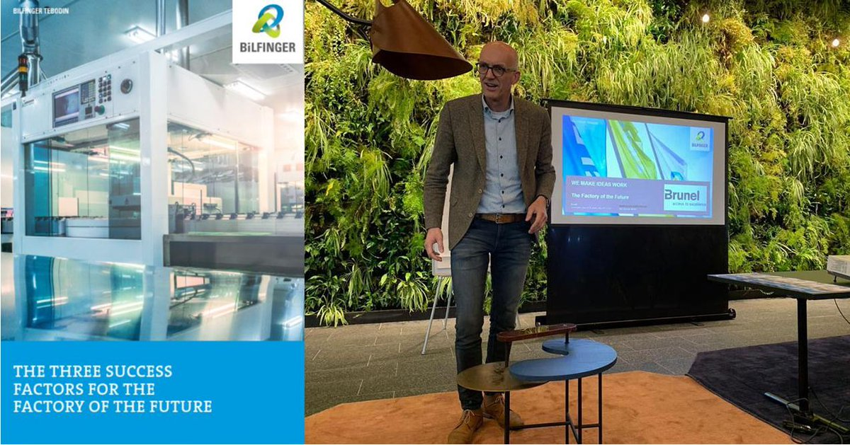 As A Spin Off Of Our White Paper About The Success Factors Of The Factory  Of The Future, Wouter Gerwen Van Gave Two Lectures About The Topic At  Offices Of ...