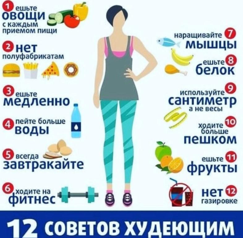 Кака правильно похудеть