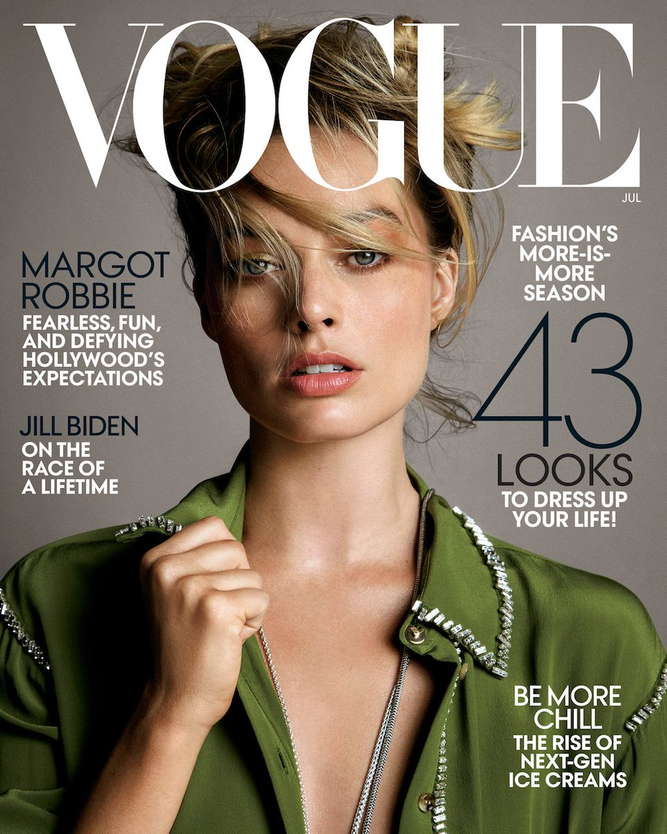 4ed5341697d margotrobbie is our July issue cover star! Read the full profile:  http://vogue.cm/GcBM8gx pic.twitter.com/0iTFziaMvp