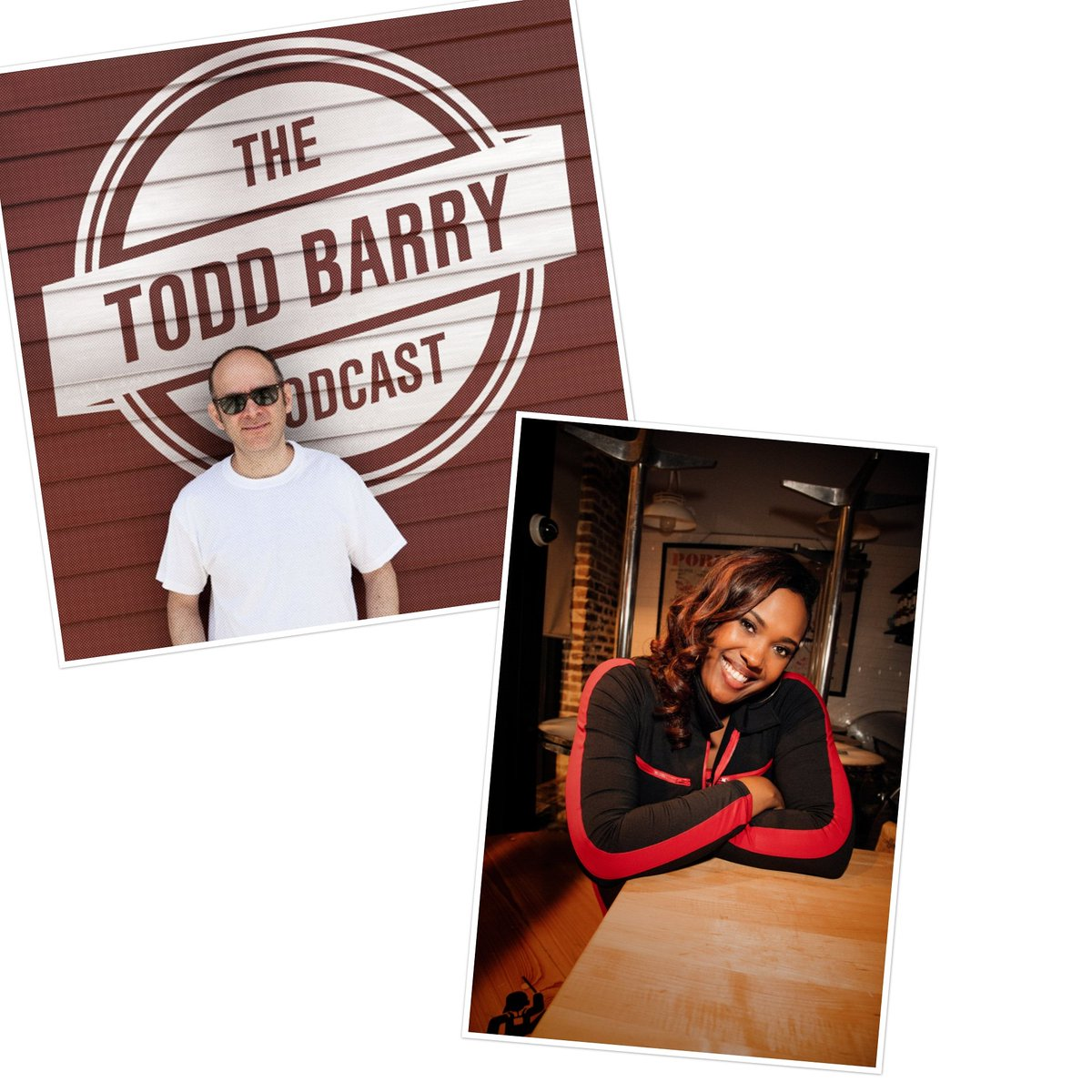 Check out the latest @ToddBarryPdcast with MIA JACKSON  (@miacomedy)! We talk about laundromat etiquette and identity theft! Subscribe on @ApplePodcasts!