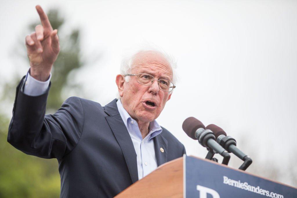 Bernie sanders politico commercial shower wall panels