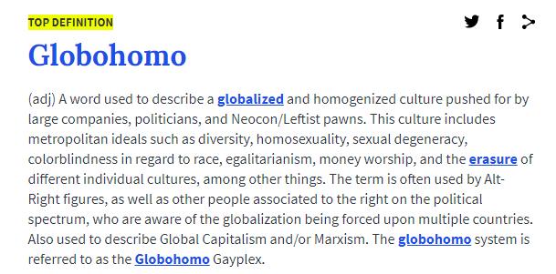 Á´˜Éªá´É´á´‡á´‡Ê€ On Twitter Globo Homo Définition, synonymes, citations, traduction dans le dictionnaire de la langue française. ᴘɪᴏɴᴇᴇʀ on twitter globo homo