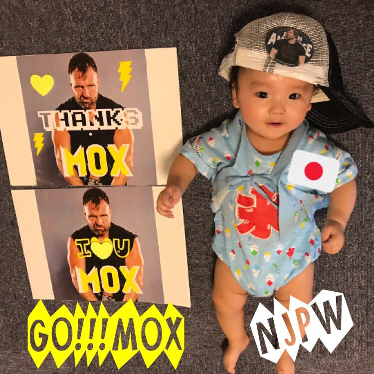 @JonMoxley  C'mon, Let's go!! I'm glad you came to Japan💙 You are the most favorite wrestler in the world!! Your participation is like a dream!!!  #njpw  #JonMoxley #IWGPUS