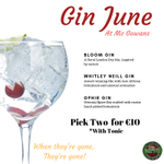 Image for the Tweet beginning: This weeks Gin June offer!