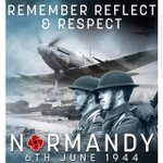 Image for the Tweet beginning: Remember, reflect and respect. #dday