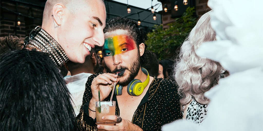 #PridePartner @Freehandhotels is proud to embrace our diverse community of travelers and their individuality. Book the Freehand Pride promo code 2019PRIDE for exclusive room packages. Book here:  #WorldPride #FreehandHotels #BrokenShaker