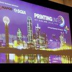 Image for the Tweet beginning: . @markjsubers President of @printingunited