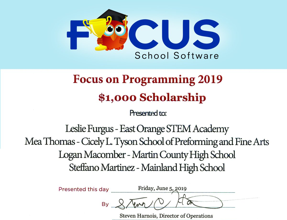 East Orange Focus >> Focus Schoolsoftware Focusschool Twitter