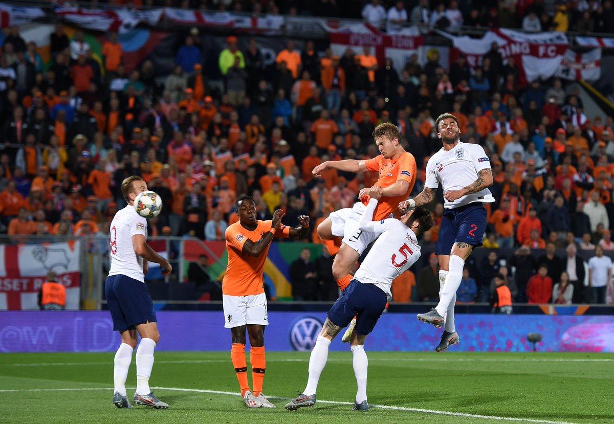 هولندا تقصف إنجلترا لتواجه البرتغال في نهائي دوري الأمم 26