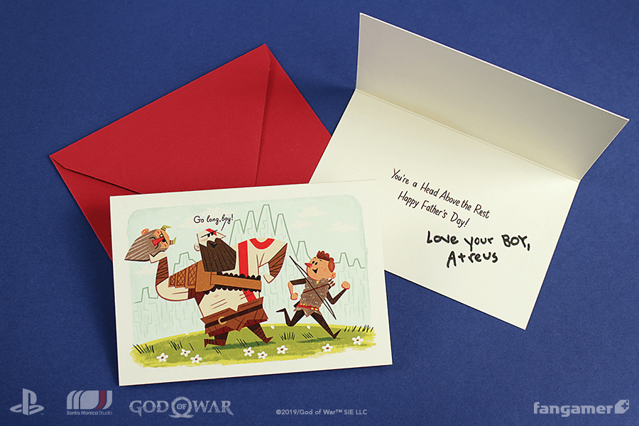 b925a8887 If you're one of the first 500 to buy something from it, we'll send you  this heartwarming card. https://www.fangamer.com/collections/god-of-war …  ...