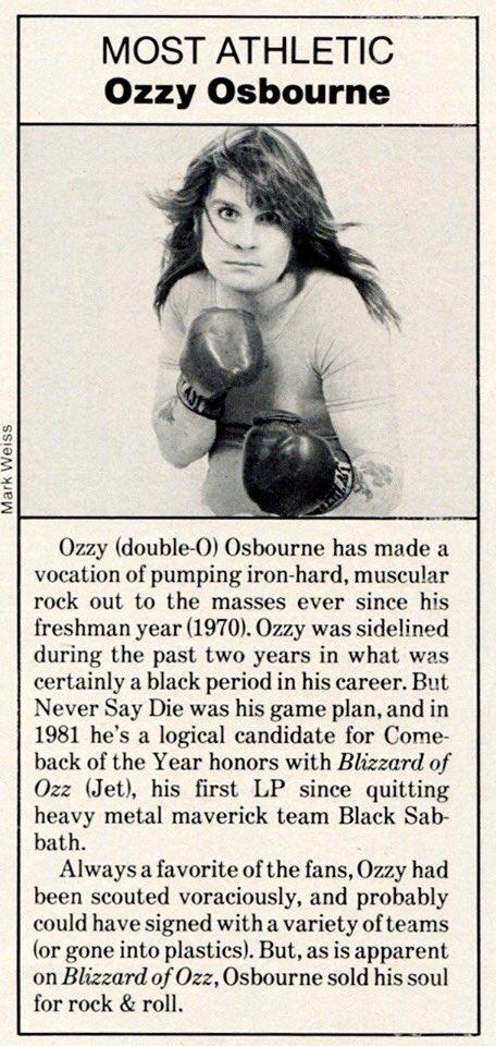 June 1981 #tbt Circus Magazine Article