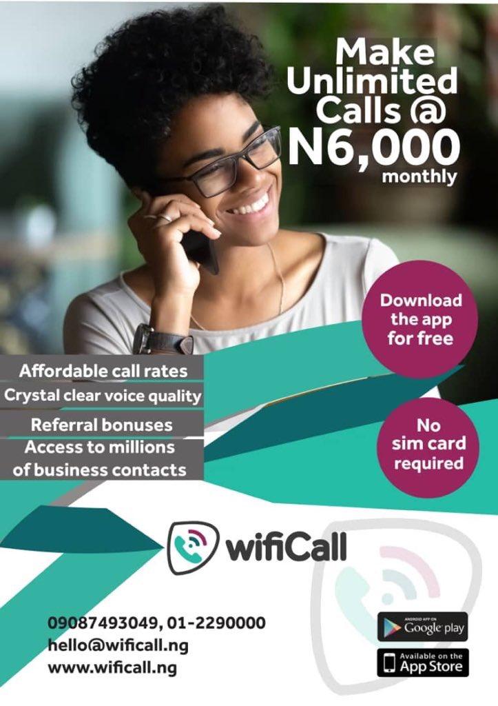 Wifi Calling in Nigeria on Twitter: