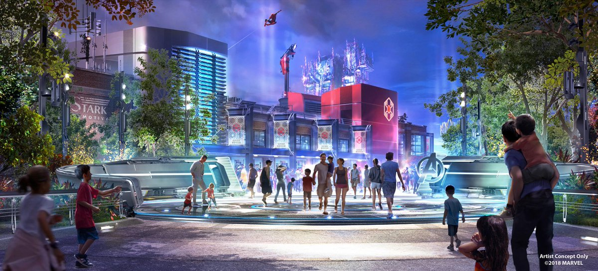 Disney Is Moving Forward With a Full-Fledged Marvel Land, and Um, Say What?!