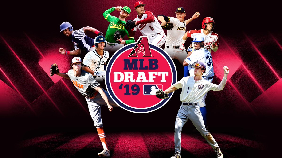 14fbcc983d1 This year's #MLBDraft for the #Dbacks, by the numbers: -26 college players  -19 high school players -28 pitchers -8 infielders -6 outfielders -3  catchers -13 ...