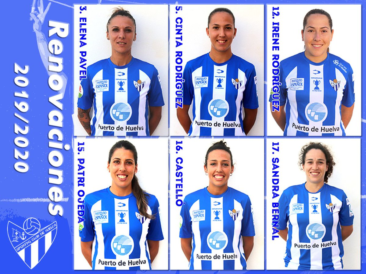 6 jugadoras formarán la columna vertebral del nuevo proyecto sportinguista  https://bit.ly/2InS5ZH  #LigaIberdrola