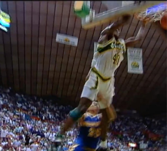 Happy 50th birthday to Shawn Kemp, one of the greatest dunkers of all-time