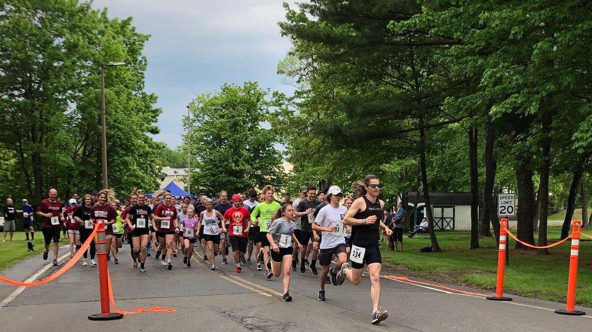 More than 170 participants came together in Ithaca, New York to participate in Steph's Run, a 5K event in honor of our employee Marty Gardner's wife, who passed away from cancer. All proceeds, more than $2,500, were given to a local family battling cancer.