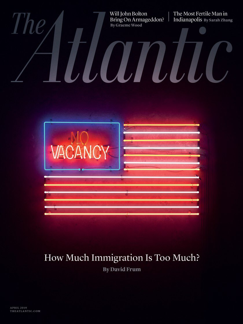 I bet I can write 10,000 words on how much the Atlantic sucks