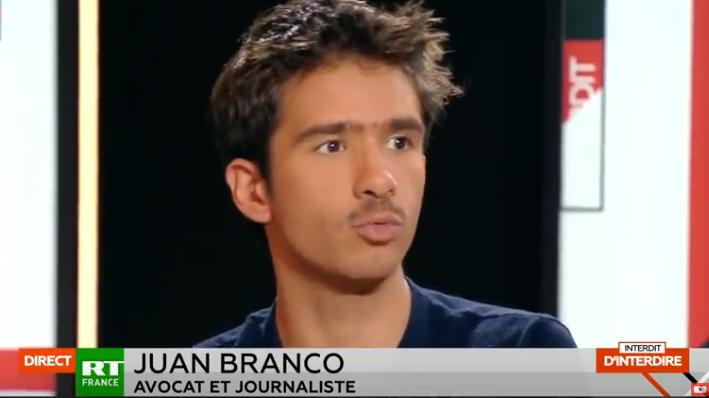 Juan Branco ou l'art du grand écart