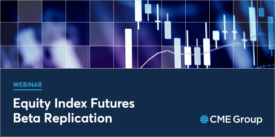 Join CME Group Director of Education, David Gibbs, for a discussion of equity index futures beta replication. Watch now: http://spr.ly/6016EoEKQ