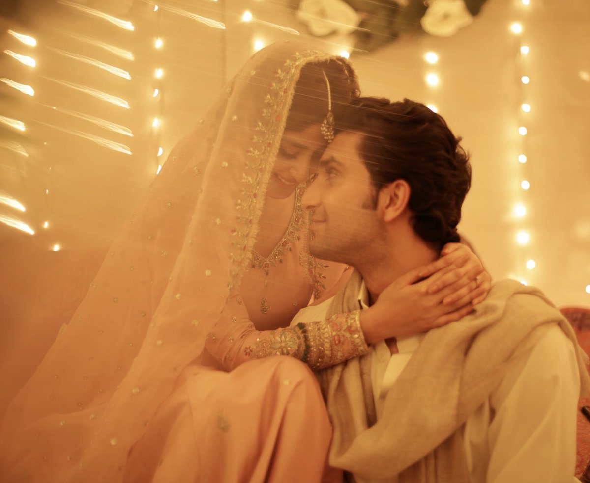 Sajal Ali marriage beautiful Pics