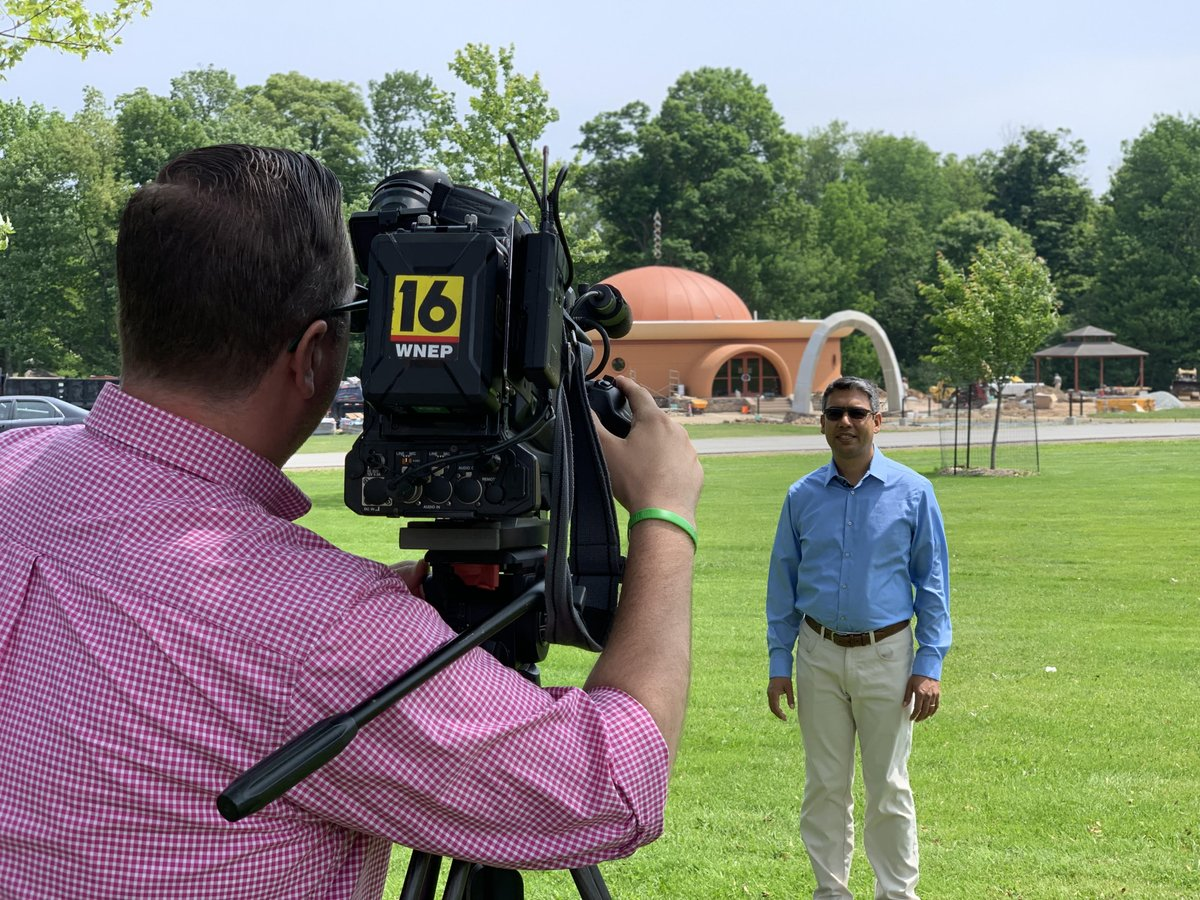 The Himalayan Institute and Year Long Meditation on WNEP-TV: bit.ly/2Ky9kdi