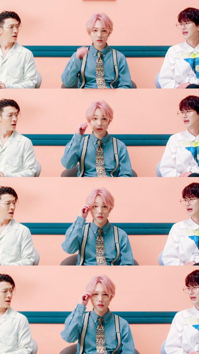 So cute😆 #예성 #Yesung #PinkMagic  #동해 #Donghae #규현 #Kyuhyun
