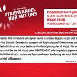 Image for the Tweet beginning: Wir fahren nach #Berlin! Endspurt