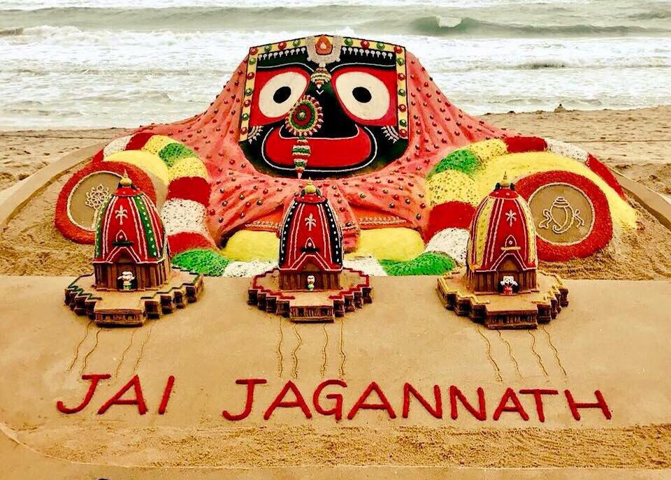 Jai Jagannath        🙏 Tweet added by Sudarsan Pattnaik