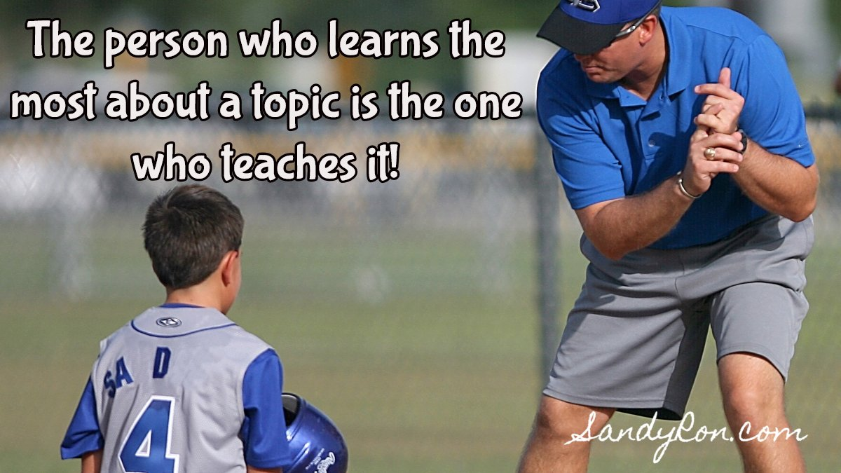 Think about it.  If you've ever taught something, you know this to be true.   #motivationalquote #businesscoaching<br>http://pic.twitter.com/me0UazVDAG