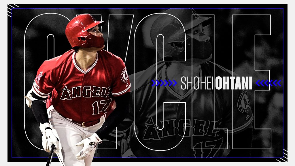 🚨 Shohei Ohtani has hit for the cycle 🚨