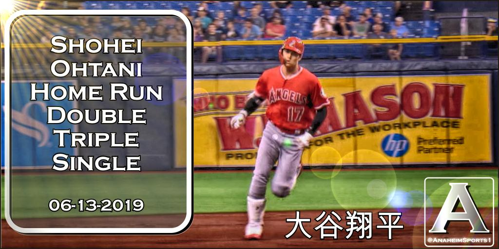 OH CYCLE SAN!  Shohei #Ohtani Hits For The Cycle   Home Run  Double  Triple  Single  #TheHaloWay  #大谷翔平<br>http://pic.twitter.com/8fycES1KQe