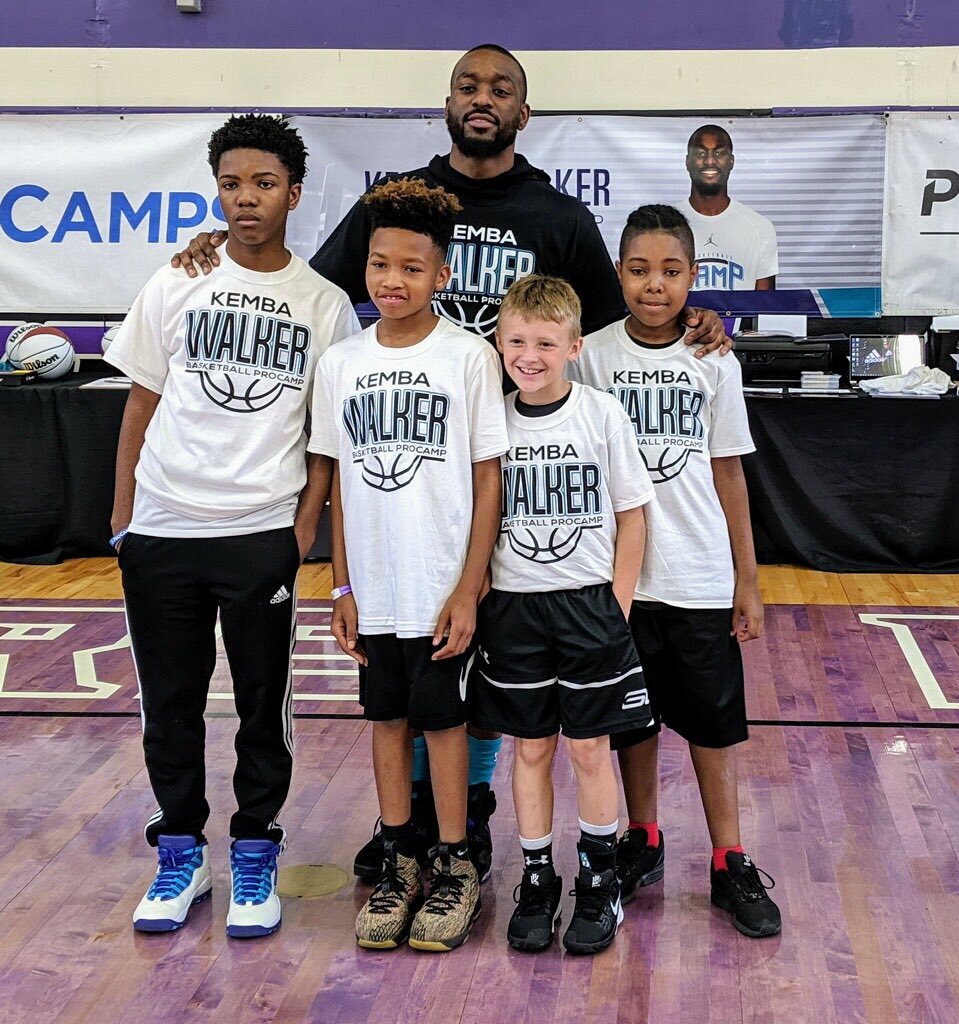 Thanks to @WelchsFruitSnck for sending these lucky campers to my @ProCamps #WelchsFruitSnacks #ad