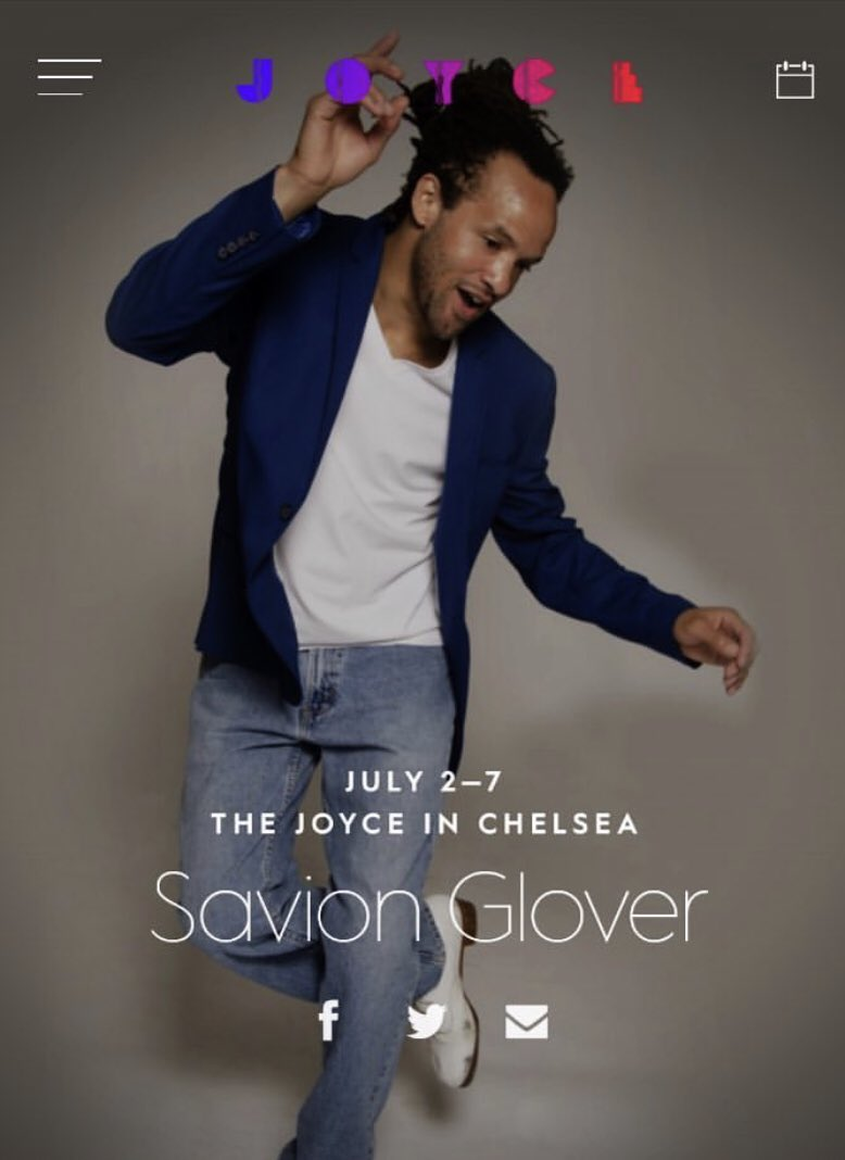 LaDY5 @ Savion Glover's BaROQuE'BLaK TaP CaFE #savionglover #joycetheater GET YOUR TICKETS NOW!! #companymanager